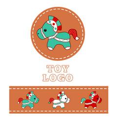 shop logo 1 vector image vector image