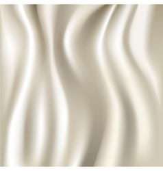 White silk fabric texture vector image