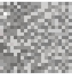 background gray pixels vector image vector image