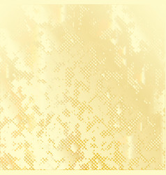 golden spotted dotted background vector image vector image
