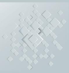 abstract geometric shape from gray deep rhombus vector image