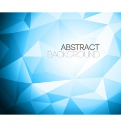 colorful folded paper background vector image