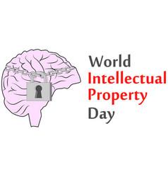 Concept protection copyright intellectual vector