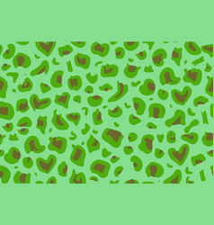 green animal skin seamless pattern texture eps 10 vector image