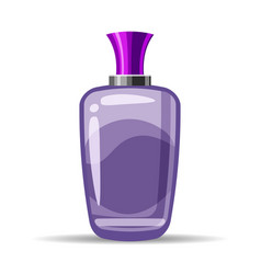 Perfume bottls icon eau de vector
