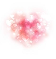pink gentle background vector image
