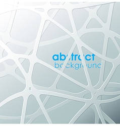 Abstract black and white mash with place for your vector image vector image