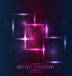 abstract light frame background vector image vector image