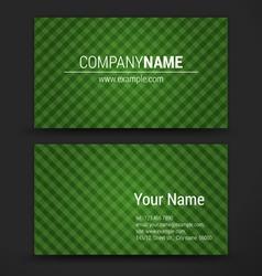 Premium business Card Set EPS10 vector image