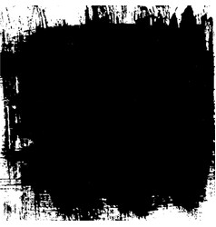 Black painted background vector