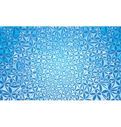 blue abstract pattern vector image