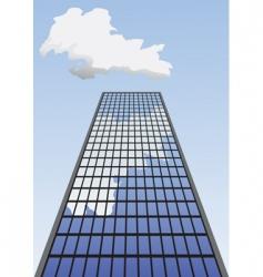 skyscraper vector image vector image