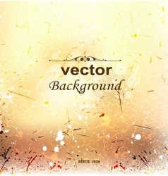 abstract background on grunge paper with place vector image