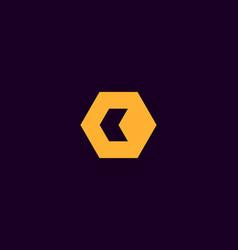 Abstract letter c d logo design template creative vector