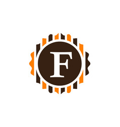 Best quality letter f vector