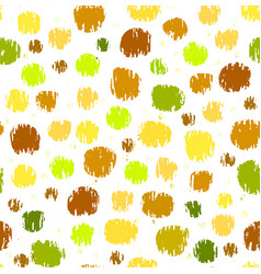 colorful pattern with grunge circles vector image