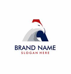 Eagle logo design template vector