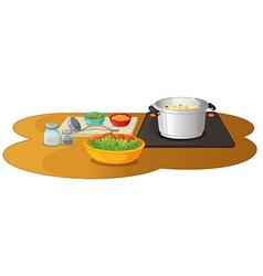 Food Preparation vector image