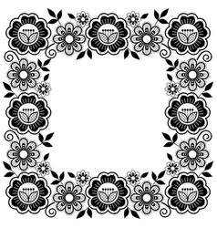 Vintage wedding lace seamless pattern set vector
