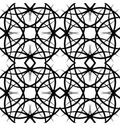 illustration seamles tile ornate pattern vector image