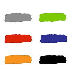 Torn Paper Set With Color Backgrounds vector image vector image