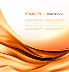 abstract brown neon background vector image vector image