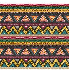 tribal striped seamless pattern Geometric vector image