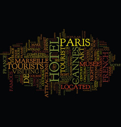 France not just for lovers text background word vector