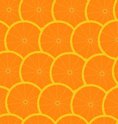 grapefruit seamless background wallpaper vector image vector image