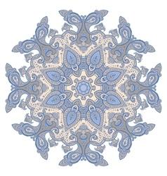 Mandala decorative pattern vector image