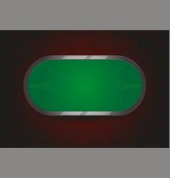 poker or black jack table vector image