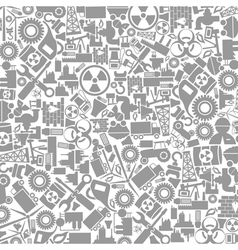 Background the industry vector image vector image