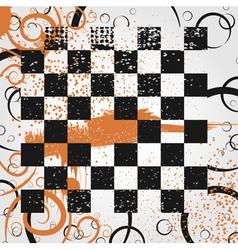 Grunge board vector image