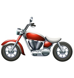 A two-wheeled transportation vector image