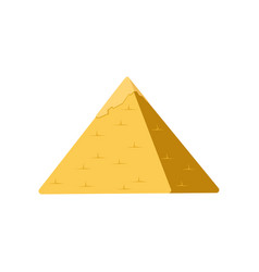 egypt pyramid symbol of ancient egypt vector image