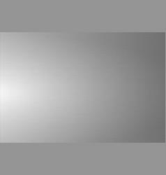 light gray brushed metallic texture shiny vector image