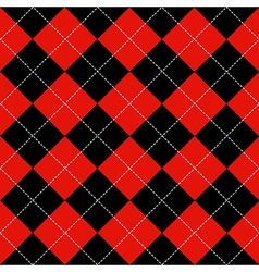 Red Black Diamond Background vector