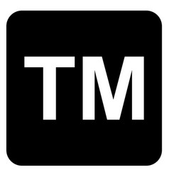 trademark symbol icon vector image