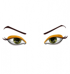 vector beautiful eyes vector image