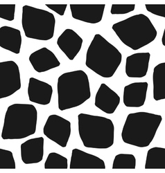 Abstract geometric black white seamless pattern vector image vector image