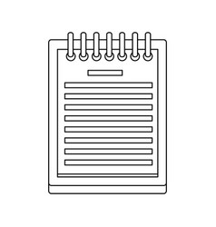 checklist order delivery service distribution vector image