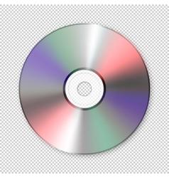 Realistic cd icon design template vector