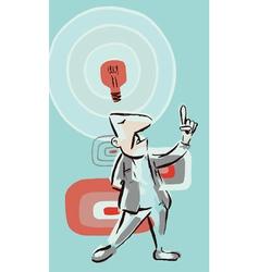 Idea Guy vector image vector image