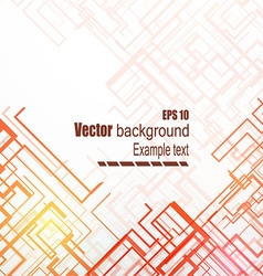 Abstract lines on a light background vector image vector image