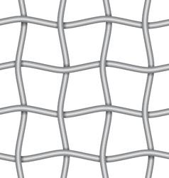 iron net vector image