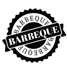 Barbeque stamp in turkish vector