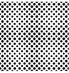big halftone circles seamless pattern vector image