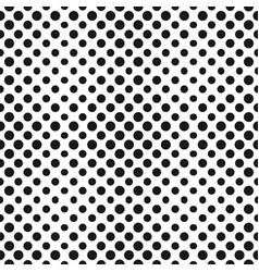 Big halftone circles seamless pattern vector