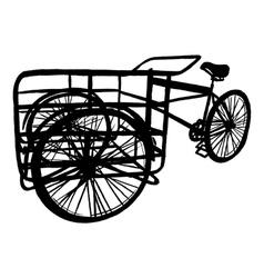Cargo Bike vector