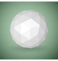Low polygonal sphere vector